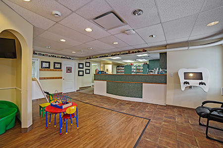 Front Desk - Pediatric Dentist in Mission, Yellowknife and Whitehorse