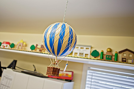Hot Air Balloon - Pediatric Dentist in Mission, Yellowknife and Whitehorse