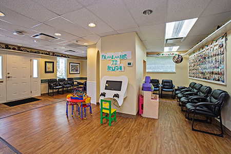Lobby - Pediatric Dentist in Mission, Yellowknife and Whitehorse